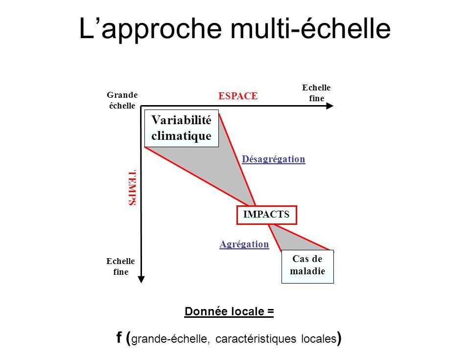 L'approche multi-échelle