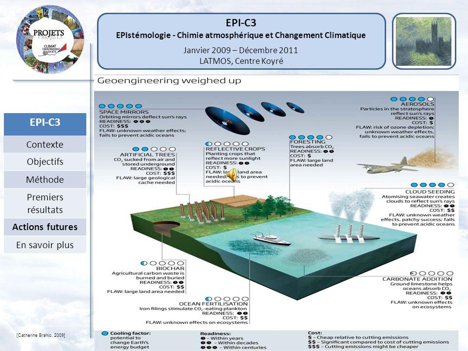 EPIstémologie - Chimie atmosphérique et Changement Climatique