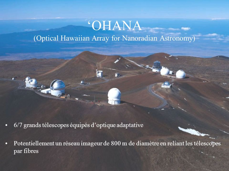 'OHANA (Optical Hawaiian Array for Nanoradian Astronomy)