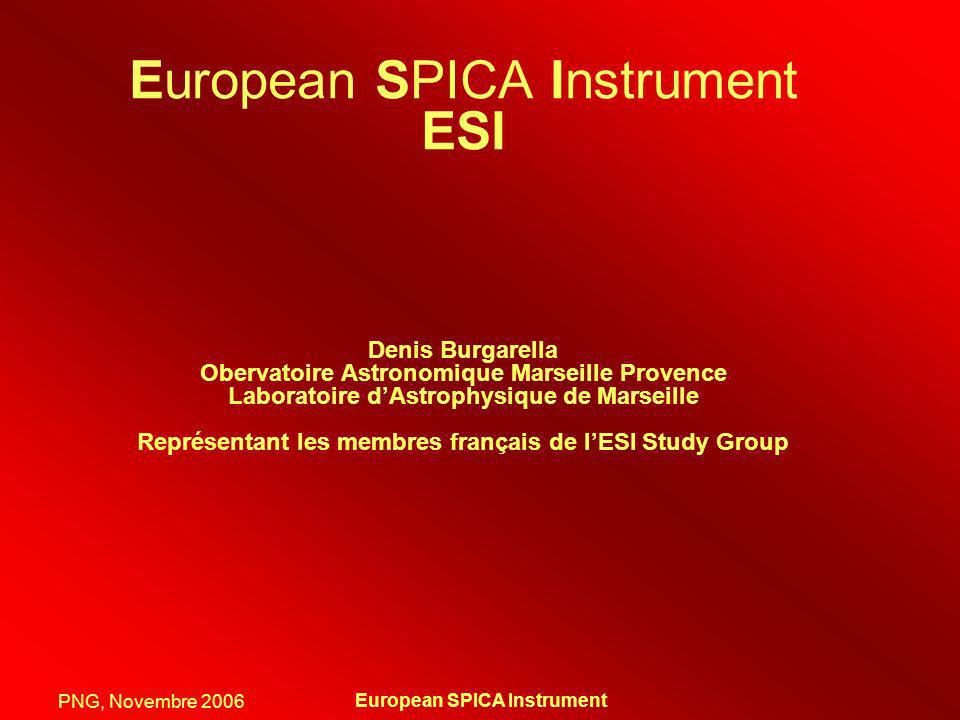 European SPICA Instrument ESI