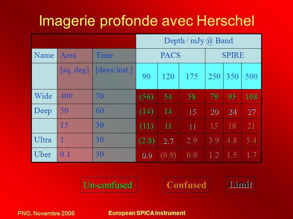 Imagerie profonde avec Herschel