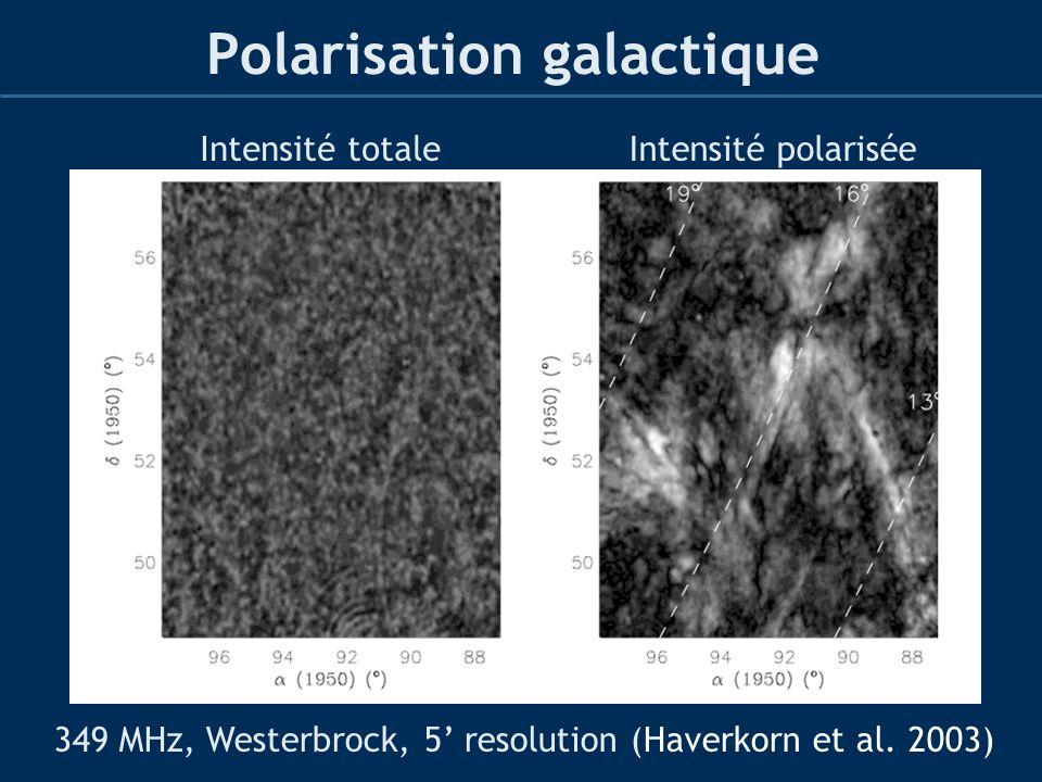 Polarisation galactique