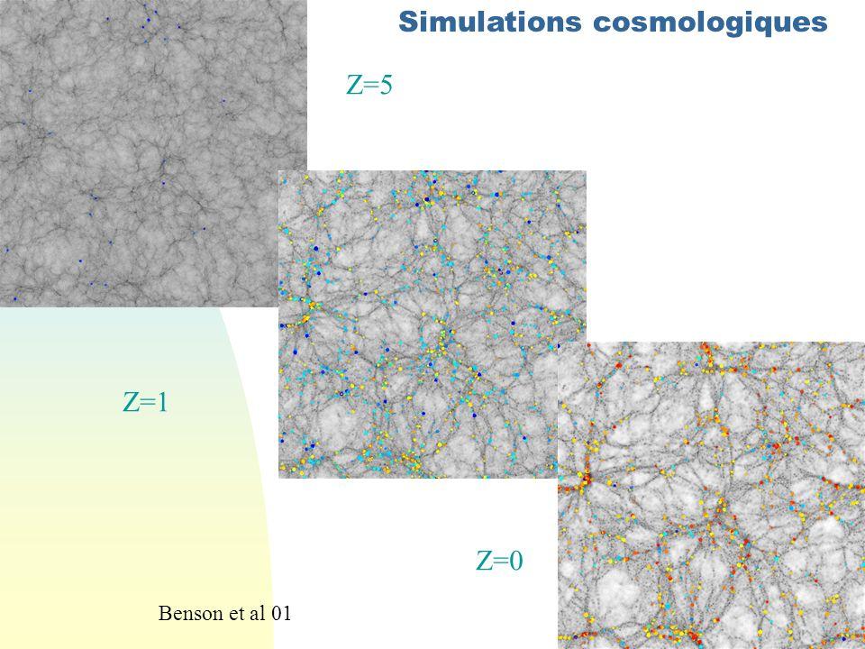 Simulations cosmologiques