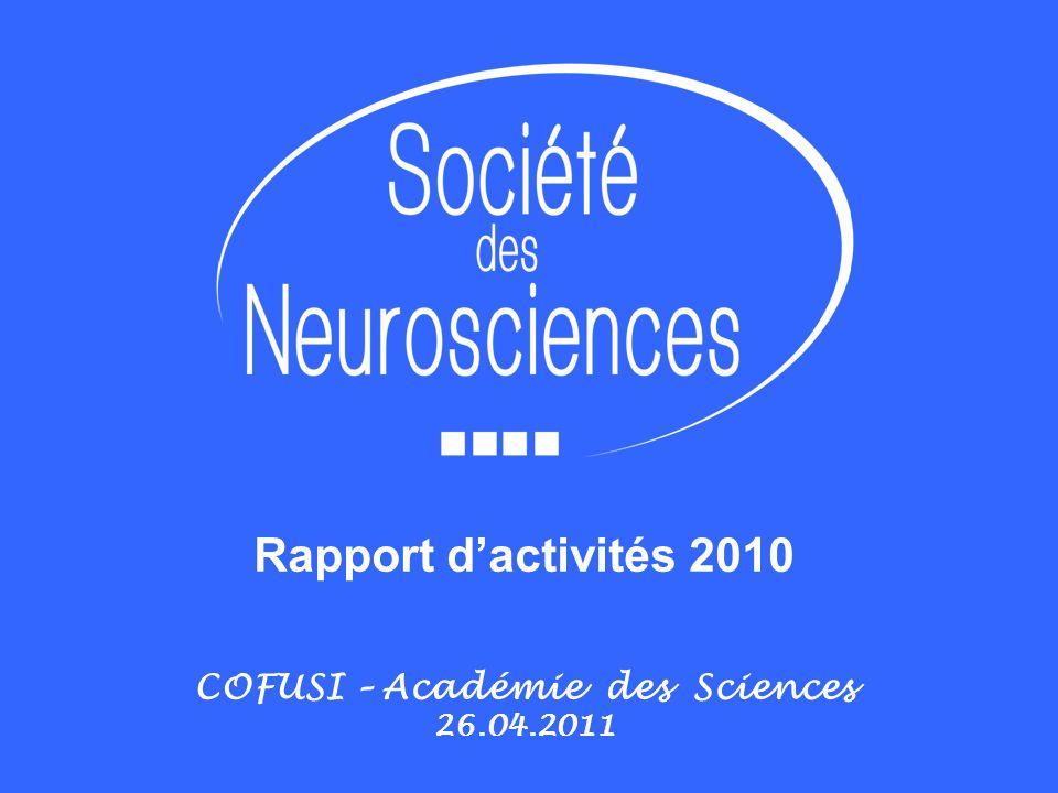 COFUSI – Académie des Sciences 26.04.2011