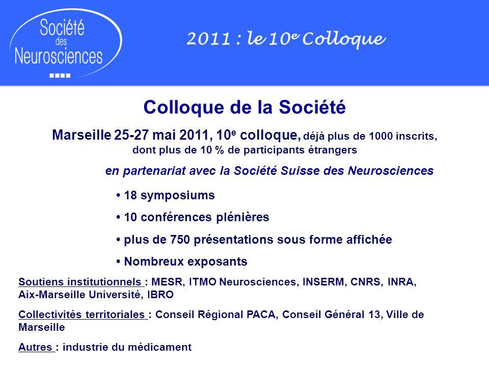 en partenariat avec la Société Suisse des Neurosciences