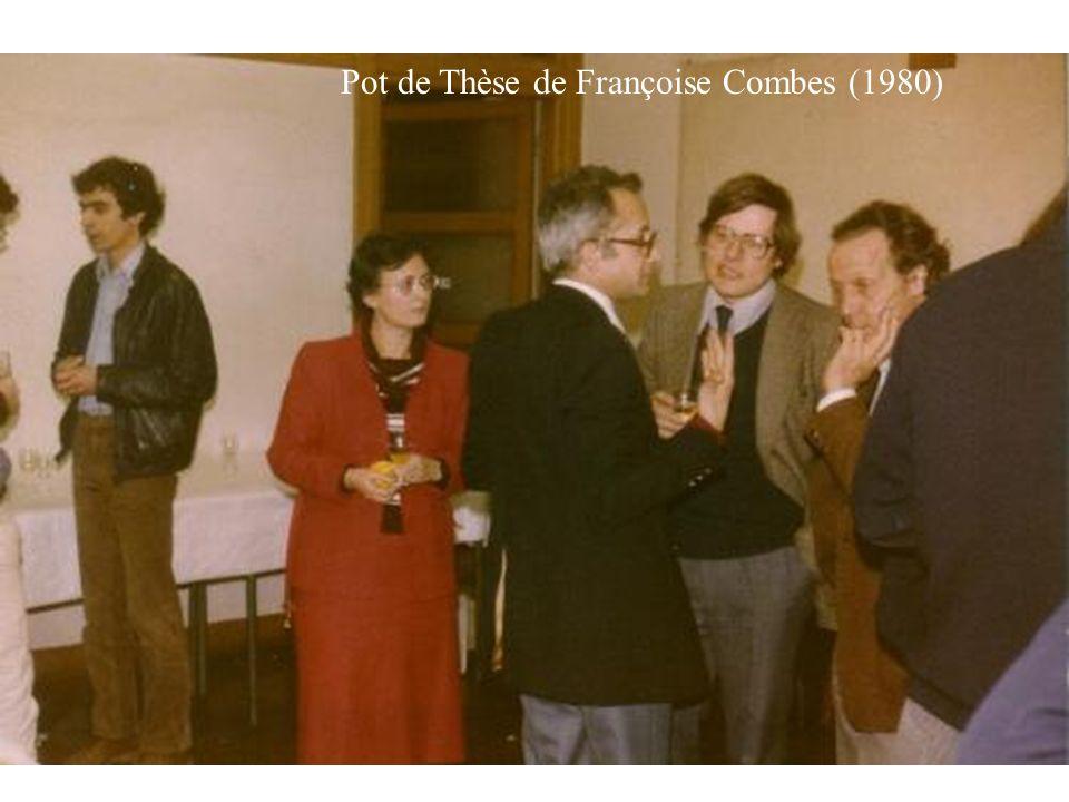 Pot de Thèse de Françoise Combes (1980)
