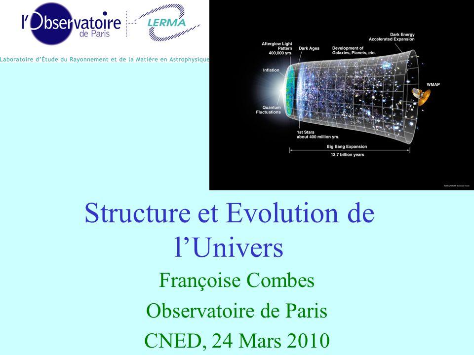 Structure et Evolution de l'Univers