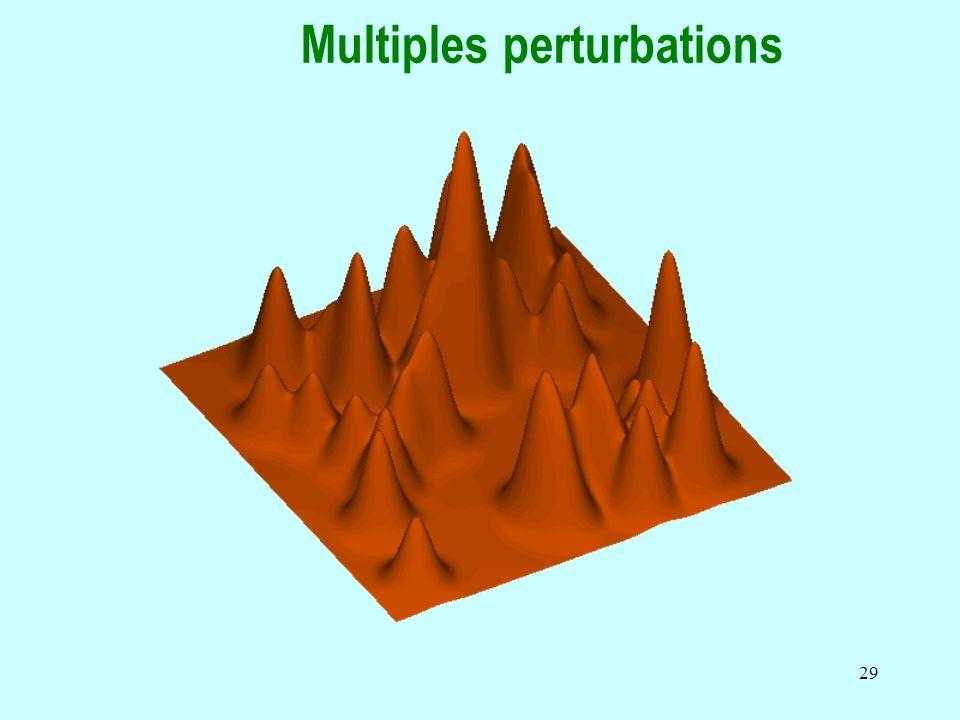 Multiples perturbations