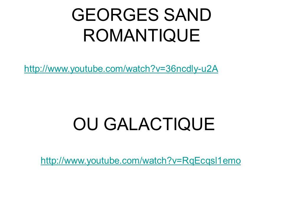 GEORGES SAND ROMANTIQUE