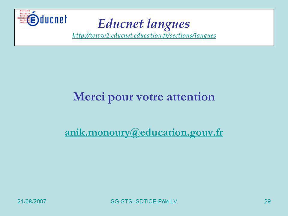 Educnet langues http://www2.educnet.education.fr/sections/langues