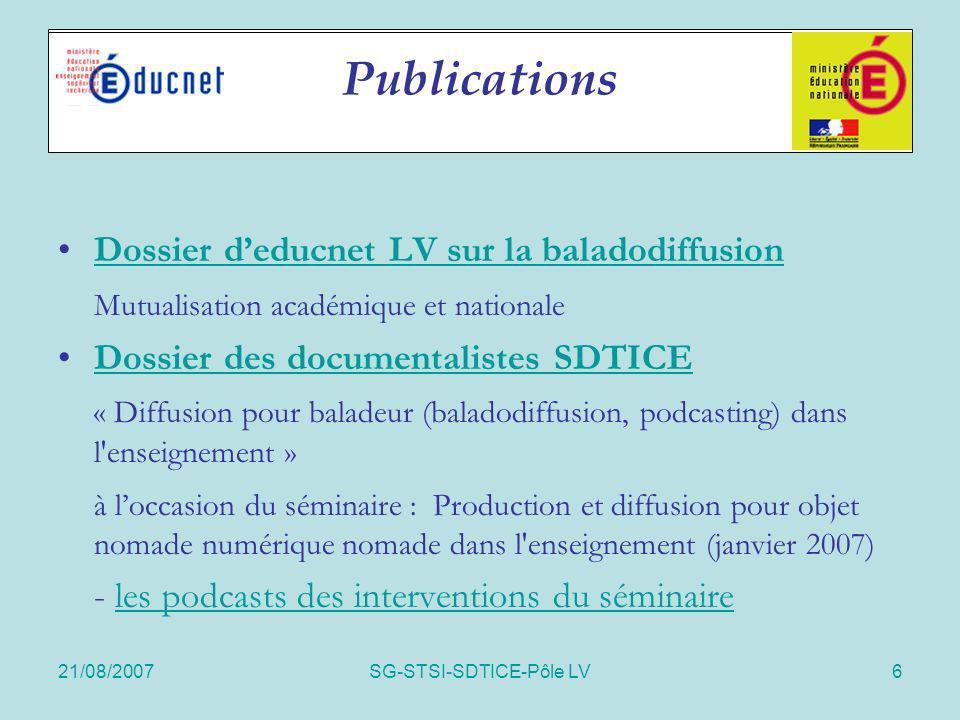 SG-STSI-SDTICE-Pôle LV