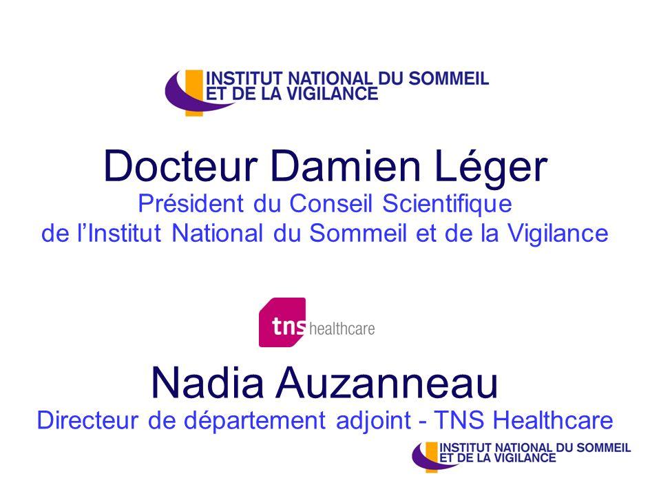 Nadia Auzanneau Directeur de département adjoint - TNS Healthcare
