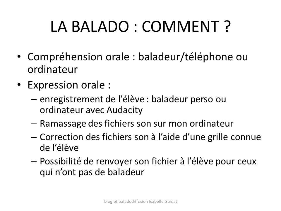 blog et baladodiffusion Isabelle Guidat