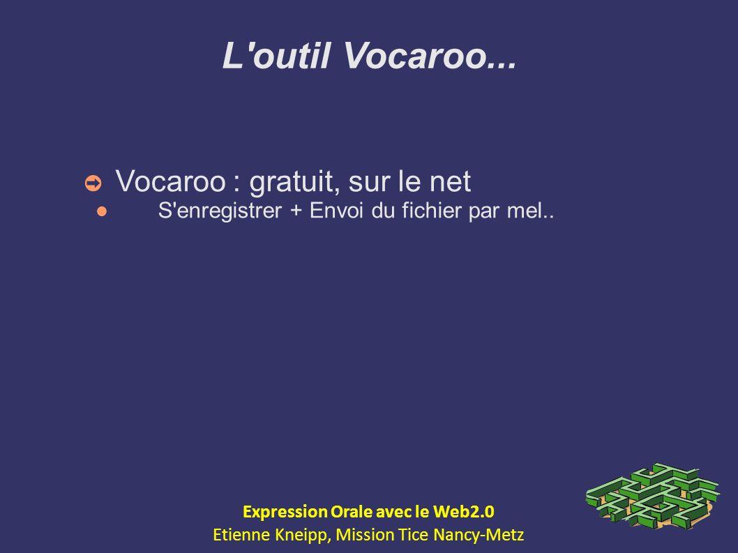 Expression Orale avec le Web2.0