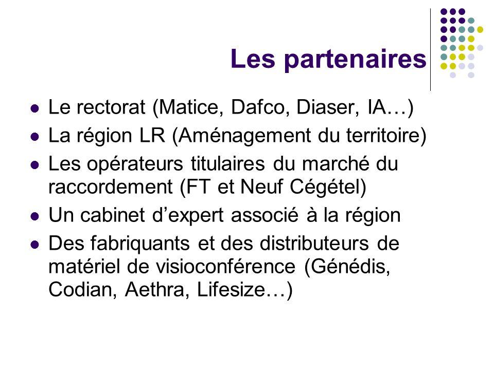 Les partenaires Le rectorat (Matice, Dafco, Diaser, IA…)