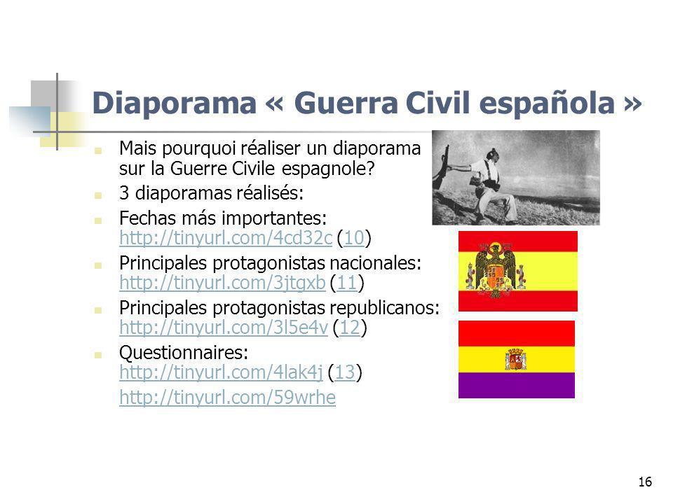 Diaporama « Guerra Civil española »