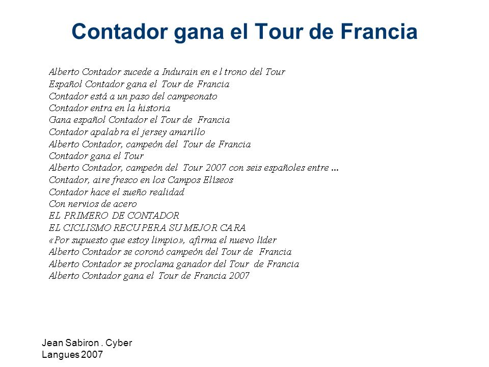 Contador gana el Tour de Francia