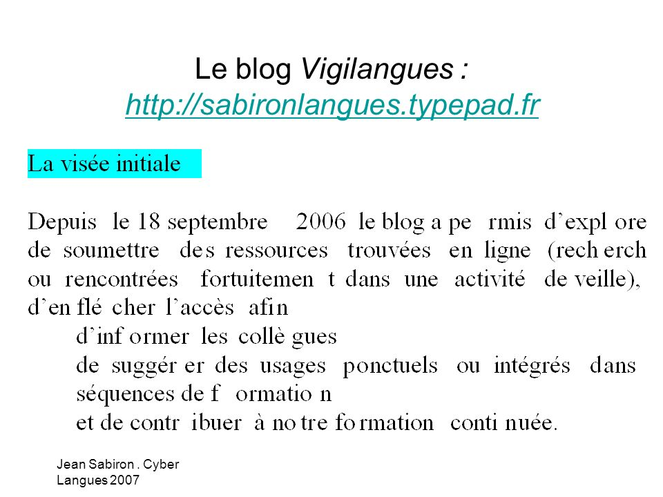 Le blog Vigilangues : http://sabironlangues.typepad.fr