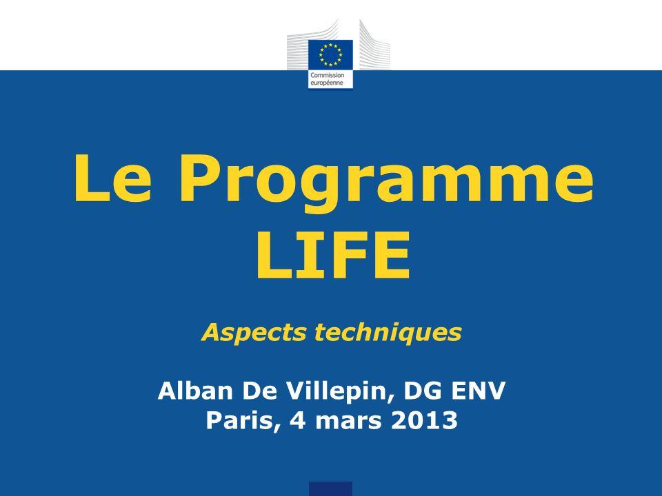 Alban De Villepin, DG ENV