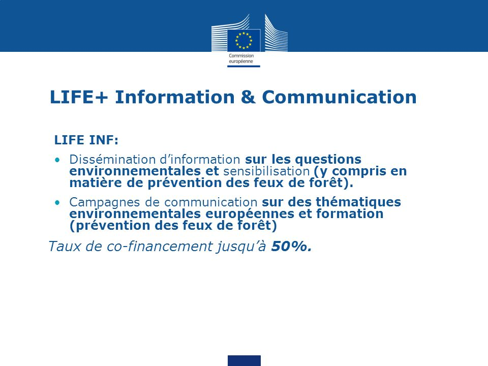 LIFE+ Information & Communication