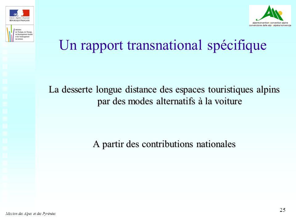 Un rapport transnational spécifique