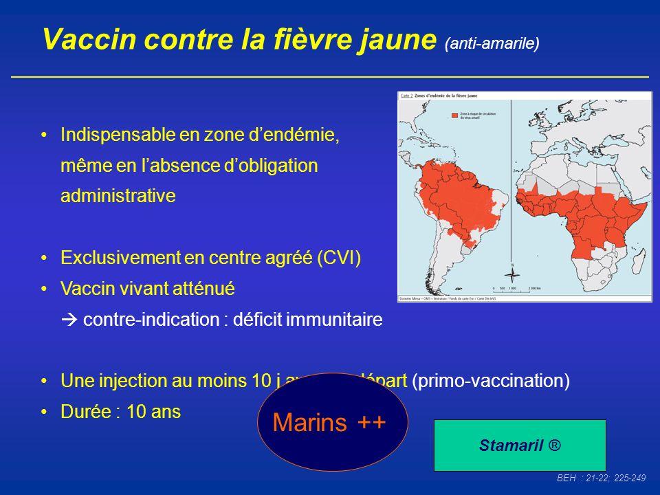 Vaccin contre la fièvre jaune (anti-amarile)