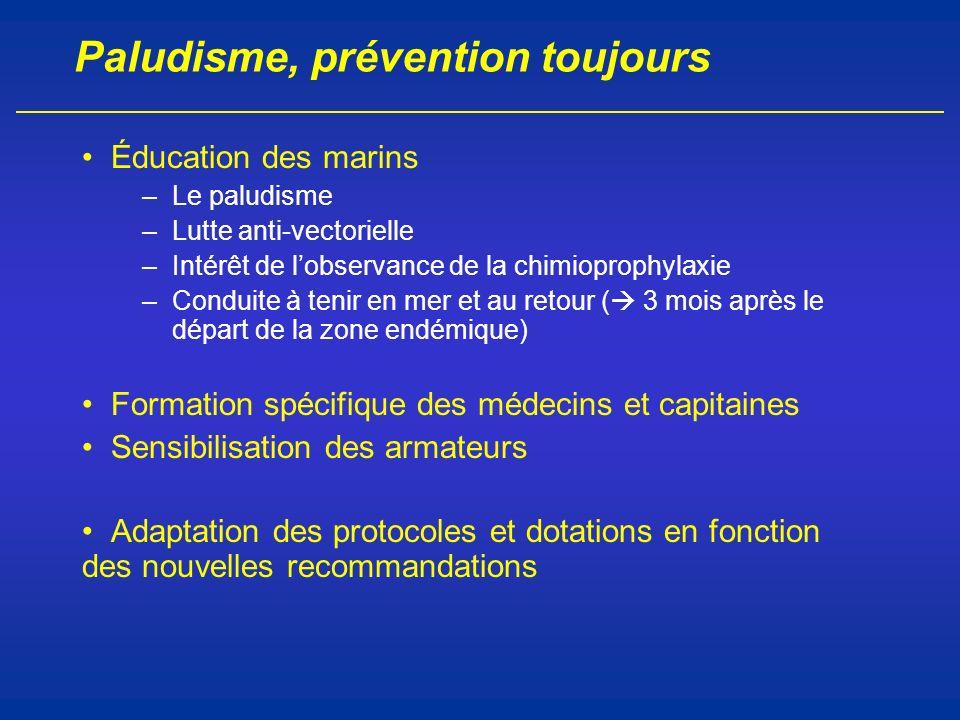 Paludisme, prévention toujours