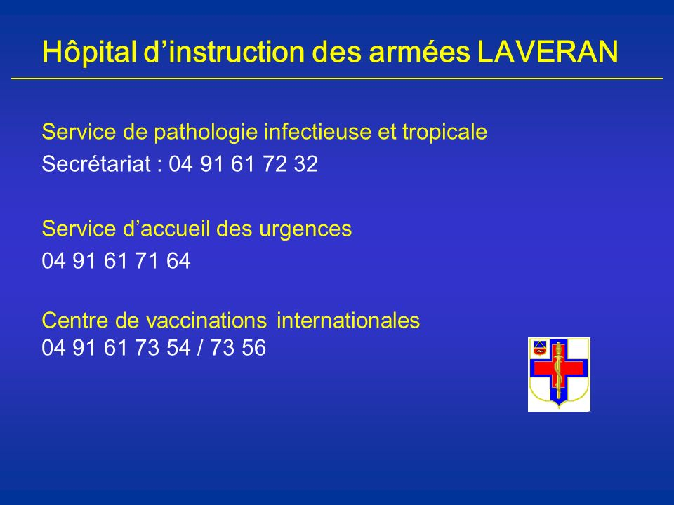 Hôpital d'instruction des armées LAVERAN