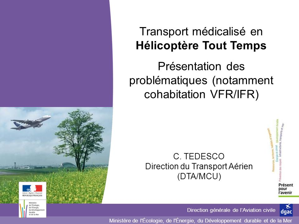 Transport médicalisé en Hélicoptère Tout Temps