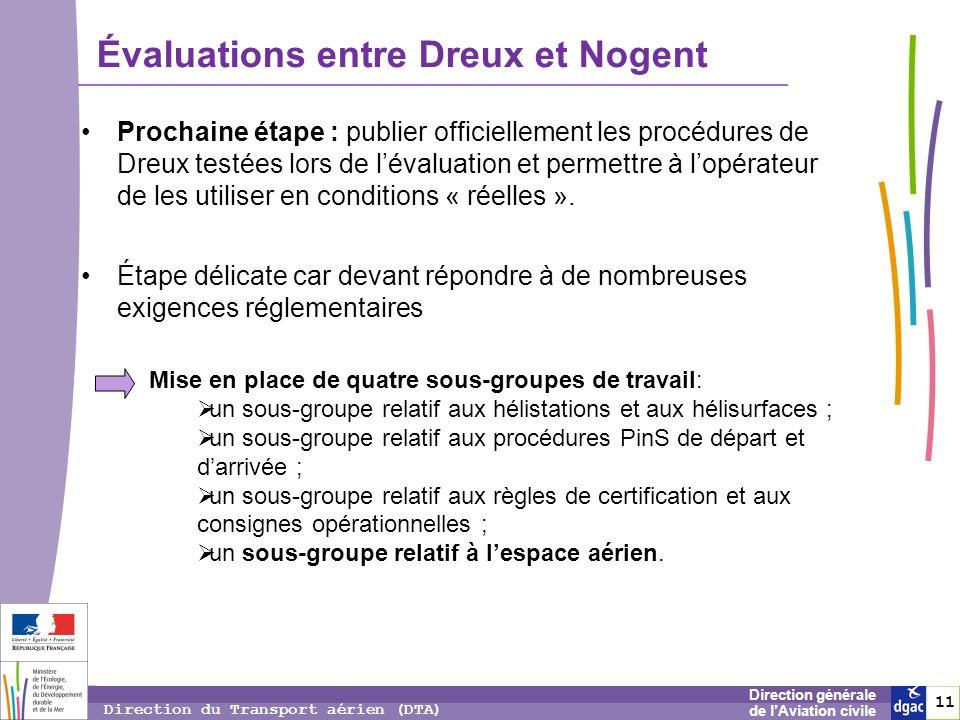 Évaluations entre Dreux et Nogent