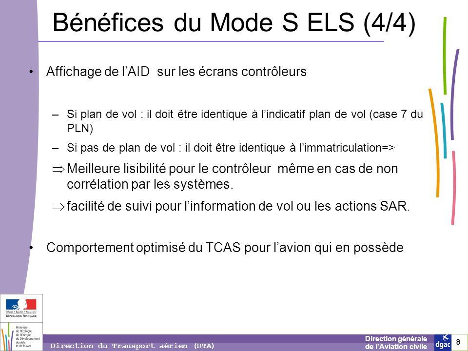 Bénéfices du Mode S ELS (4/4)