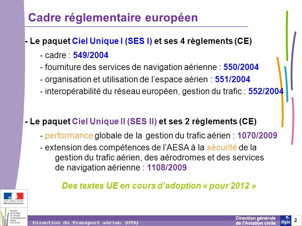 Des textes UE en cours d'adoption « pour 2012 »