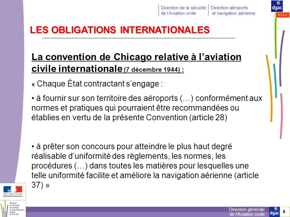 LES OBLIGATIONS INTERNATIONALES