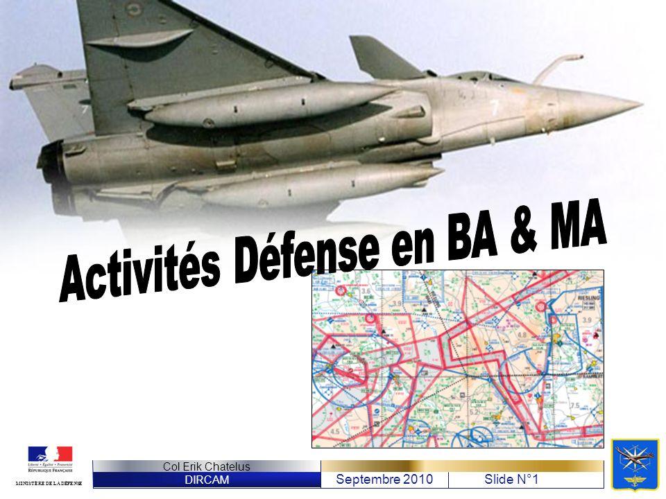 Activités Défense en BA & MA