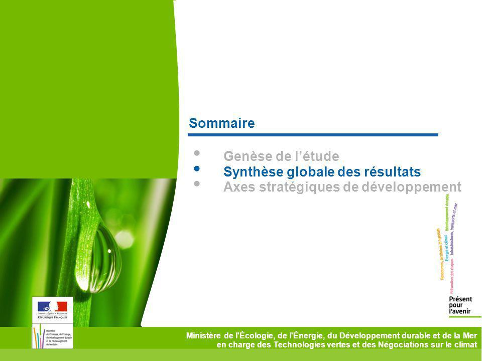Synthèse globale des résultats Axes stratégiques de développement
