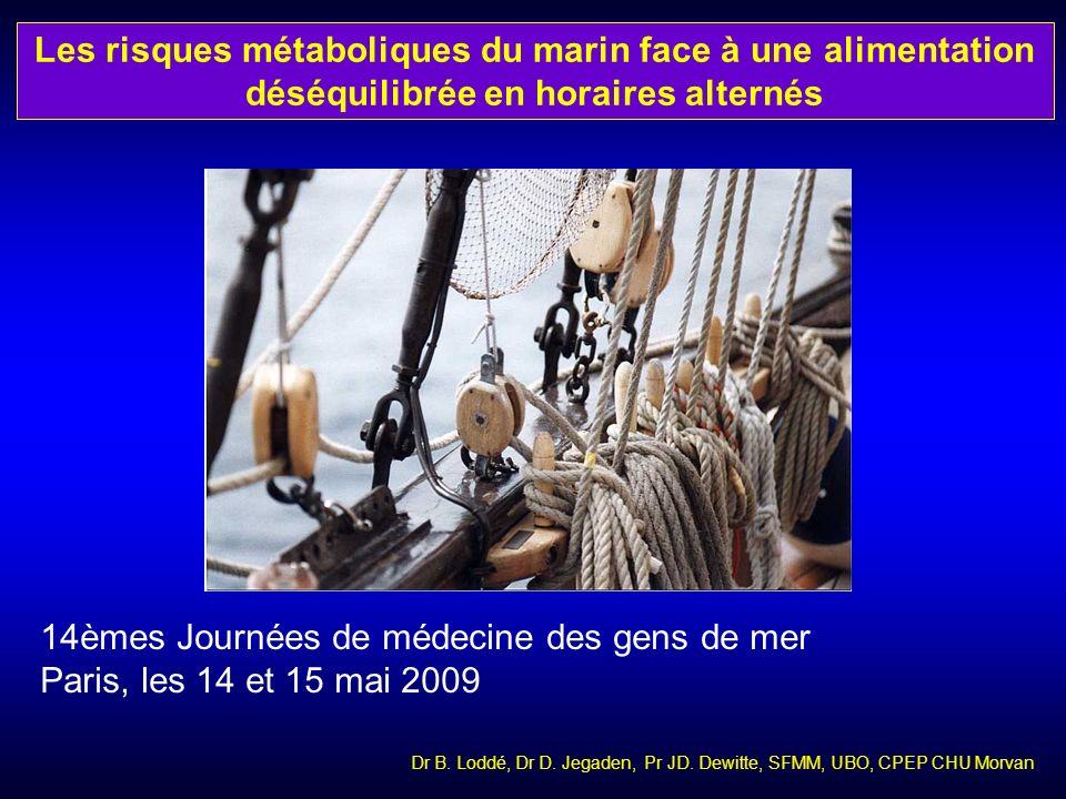 14èmes Journées de médecine des gens de mer