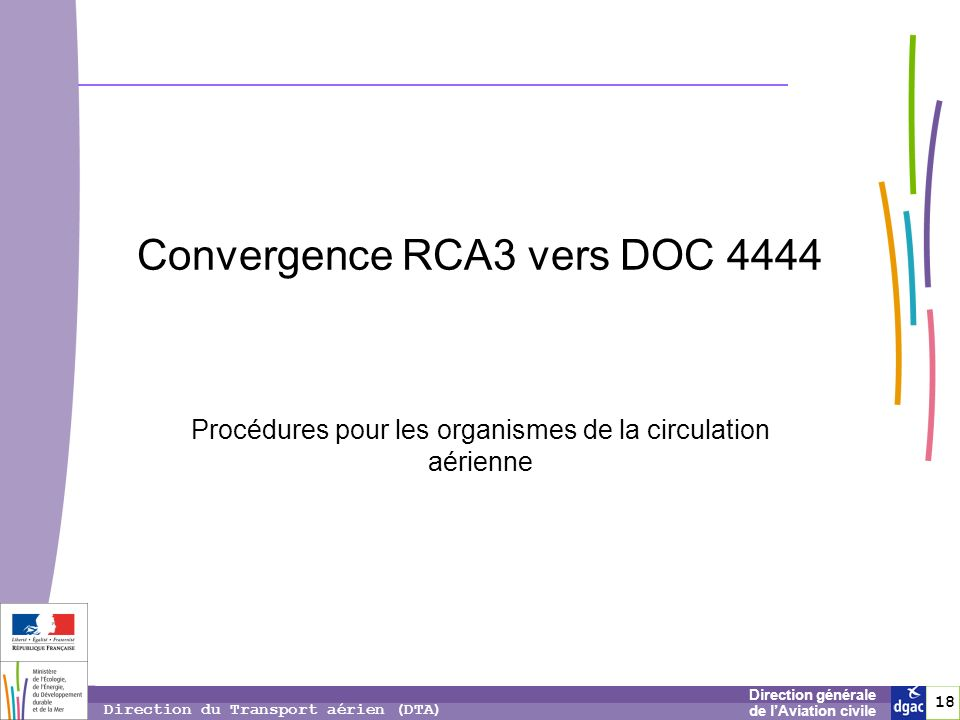 Convergence RCA3 vers DOC 4444