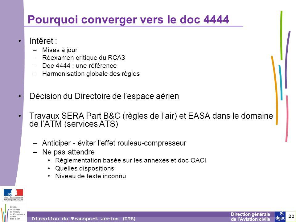 Pourquoi converger vers le doc 4444