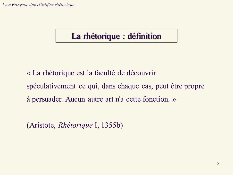 La rhétorique : définition