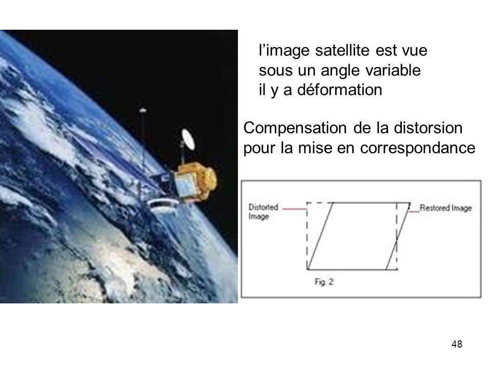 l'image satellite est vue
