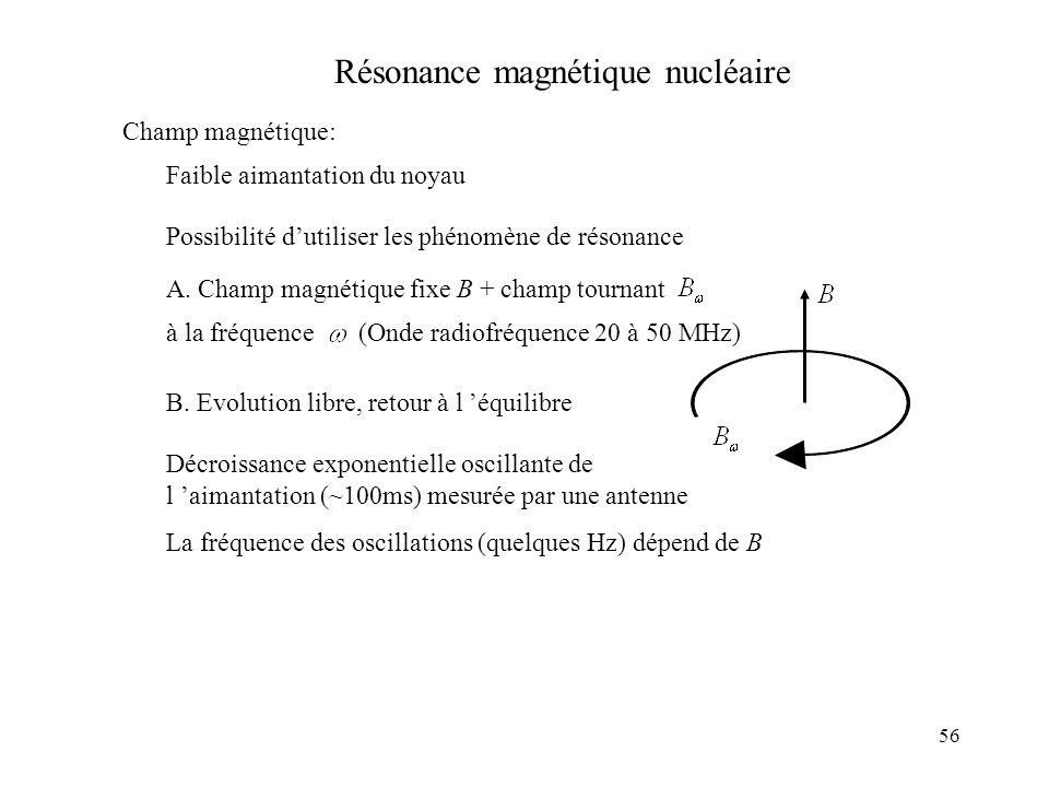 Résonance magnétique nucléaire