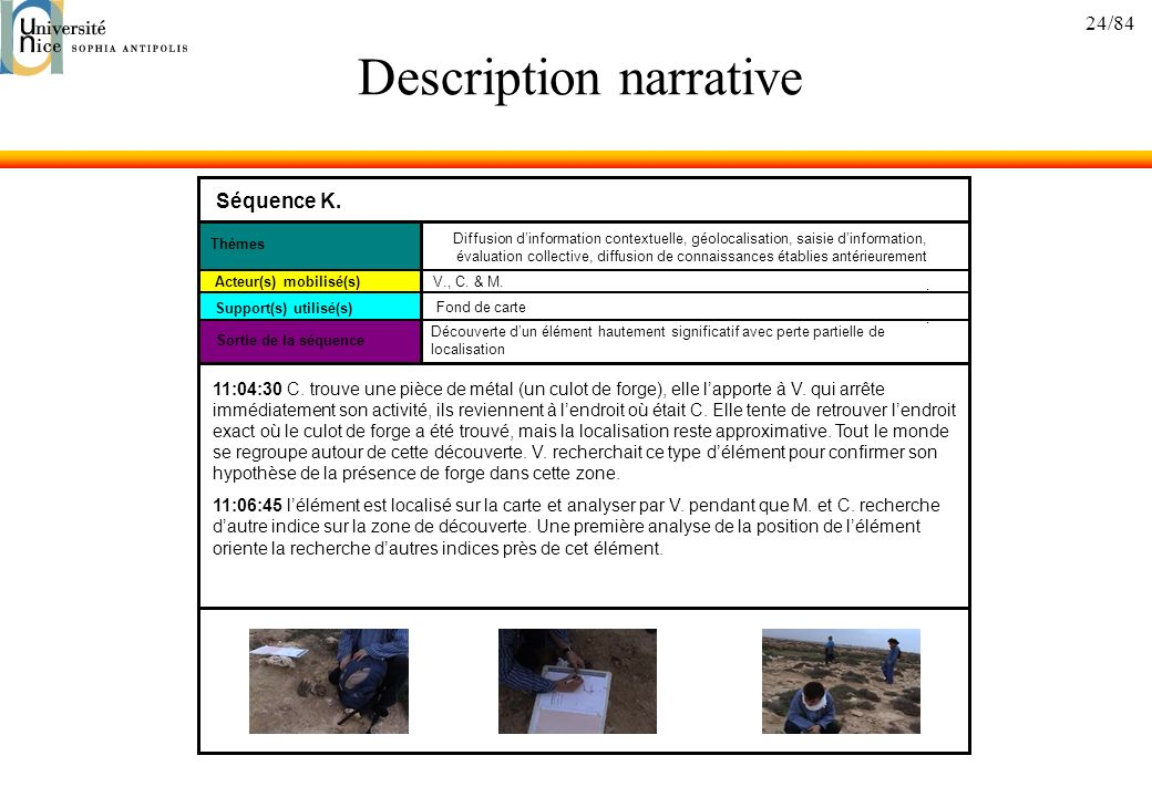Description narrative