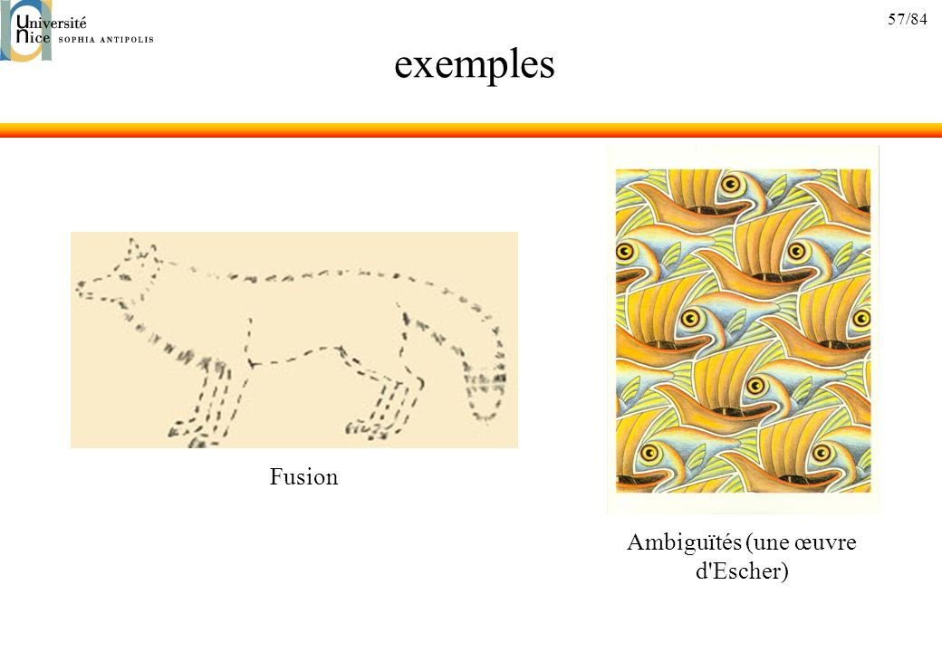 Ambiguïtés (une œuvre d Escher)