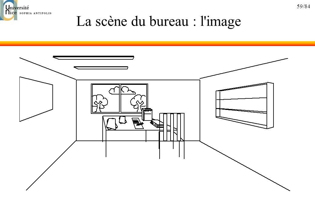 La scène du bureau : l image