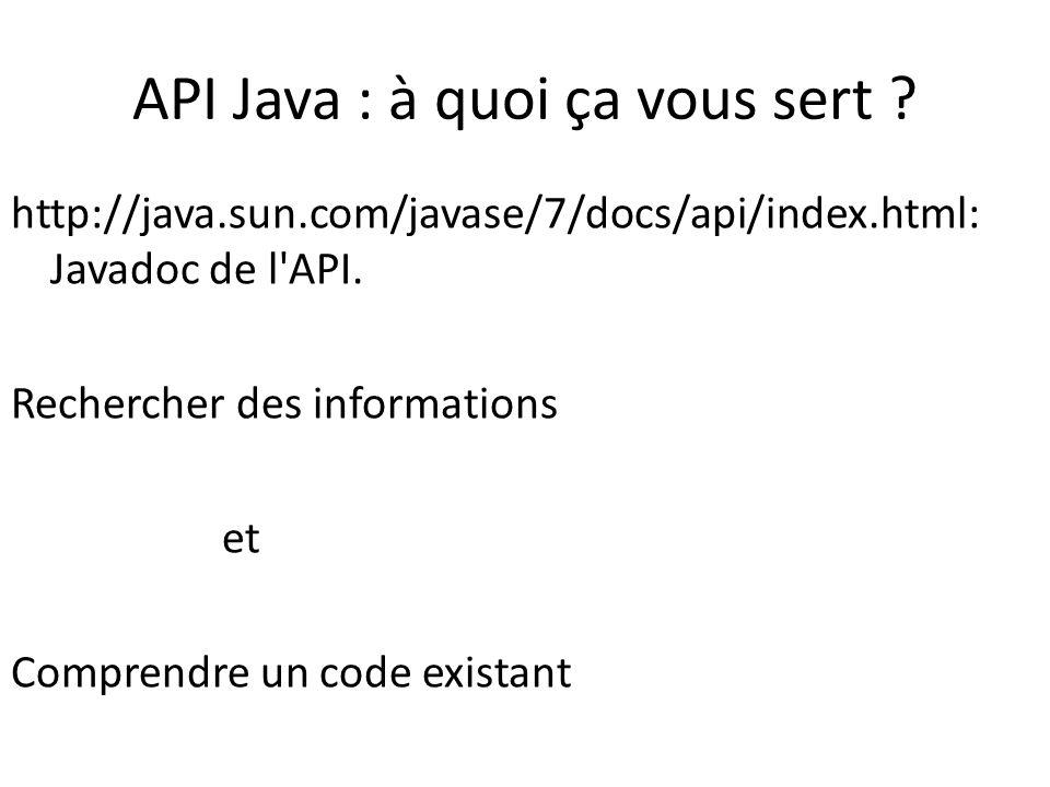 API Java : à quoi ça vous sert