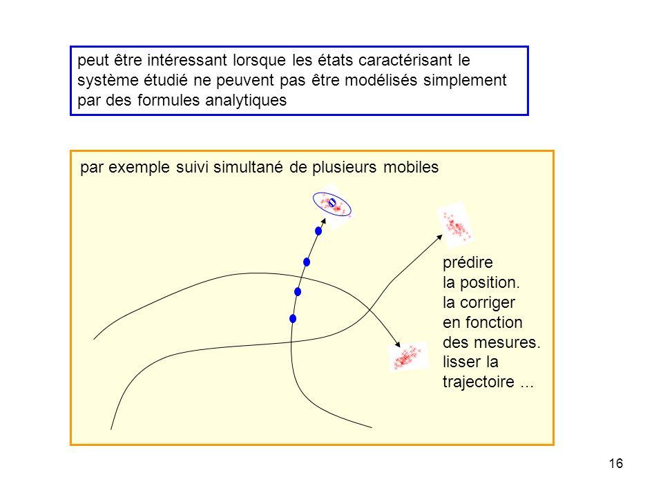 peut être intéressant lorsque les états caractérisant le système étudié ne peuvent pas être modélisés simplement par des formules analytiques