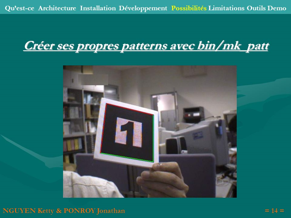 Créer ses propres patterns avec bin/mk_patt