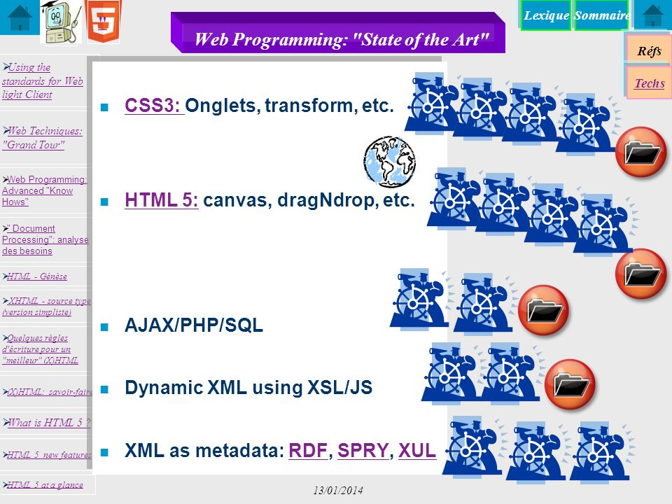 Web Programming: State of the Art