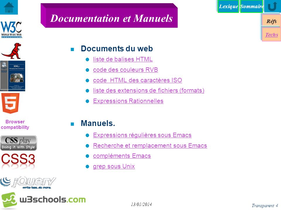 Documentation et Manuels