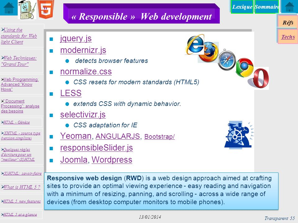 « Responsible » Web development